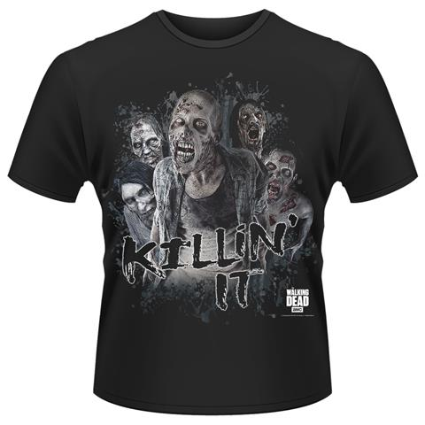PLASTIC HEAD Walking Dead - Killin' It (T-Shirt Unisex Tg. M)