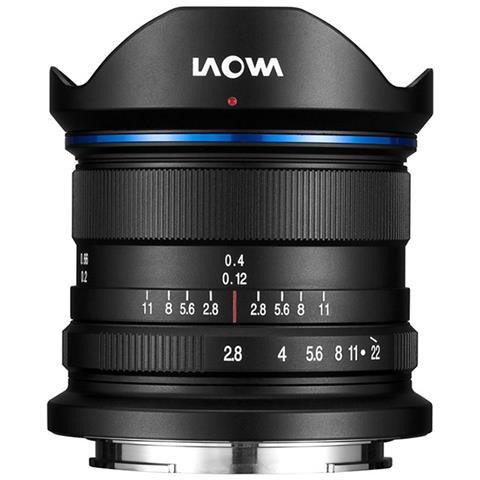 Obiettivo 9mm f / 2.8 Zero Distortion per sensori APSC Canon EOS M