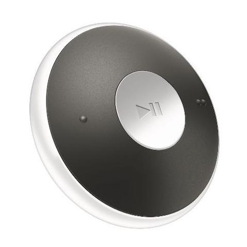 PHILIPS Lettore MP3 2 GB GoGEAR MiniDot SA5DOT02 con Clip Colore Bianco