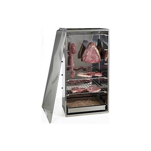 Affumicatore MEDIO 10030N, carne, pesce, formaggi, verdure, INOX, grigio