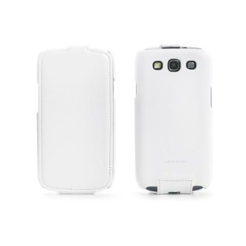 MUVIT Leather Case Galaxy S3 / S3 Neo Wh