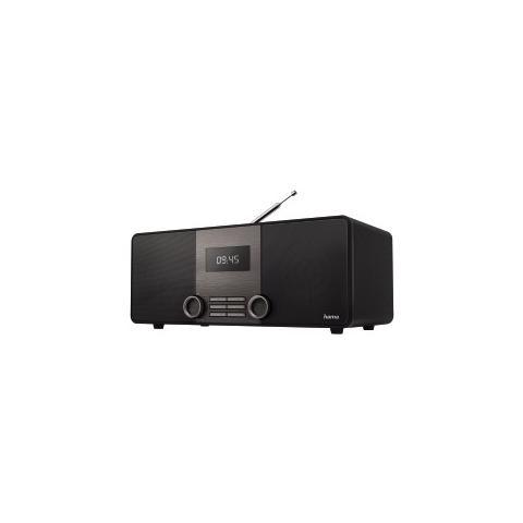HAMA Radio Digitale DR1510 DAB / DAB + / FM Bluetooth Colore Nero