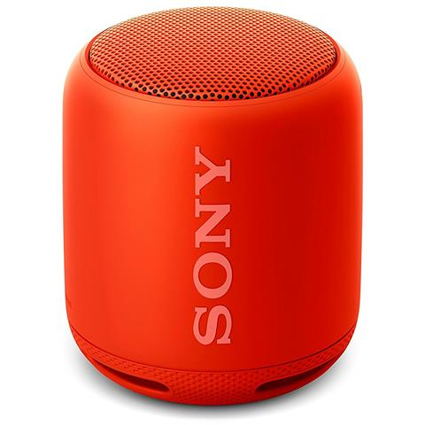 SONY Speaker Wireless Portatile SRS-XB10 Bluetooth / 3.5 mm Colore Rosso