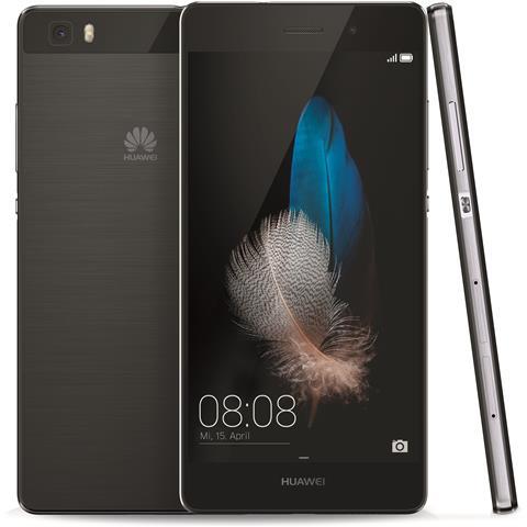 """HUAWEI Ascend P8 Lite Black Display IPS 5"""" HD Octa Core RAM 2Gb Storage 16Gb + Slot Bt WiFi 4G / LTE Fotocamera 13MP / 5MP Android 5 - Italia RICONDIZIONATO"""