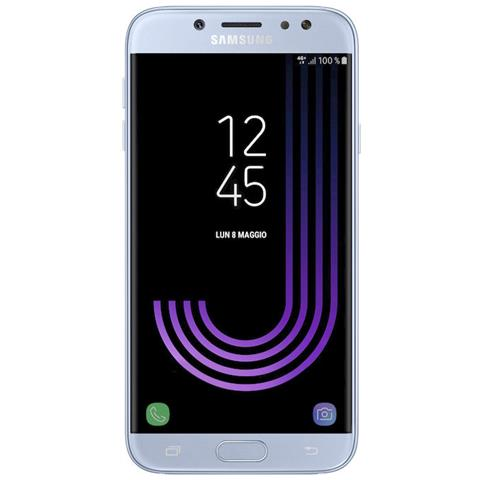 Galaxy J7 (2017) Blu 16GB 4G / LTE Dual Sim Display 5.5'' Full HD Slot MicroSD Fotocamera 13Mpx Android -Europa