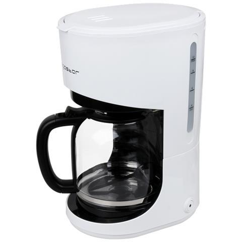 Macchina Per Caffè¨ Elettrica Da 900w In Plastica Ed Acciaio 1500ml Colore Bianco