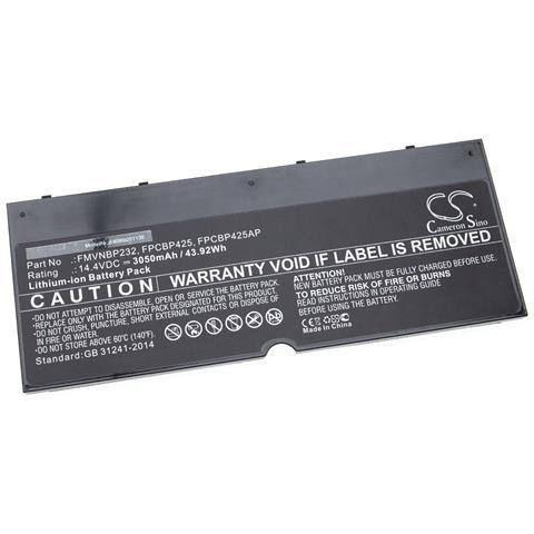 Image of Batteria Compatibile Con Fujitsu Lifebook Lifebook T935, Lifebook U745, T904, T904u Laptop, Notebook (3050mah, 14,4v, Li-ion)