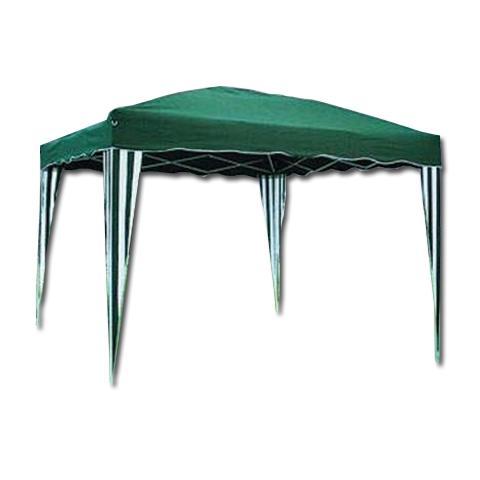 Gazebo in Alluminio 3 x 3 metri Colore Verde