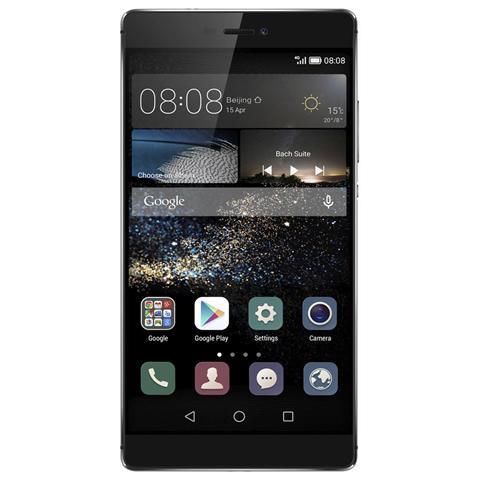 Ascend P8 Grey Display IPS 5.2'' Full HD Octa Core Ram 3Gb Storage 16Gb + Slot 4G / LTE WiFi BT Fotocamera 13 Mpx e 8 Mpx Android 5 - Europa