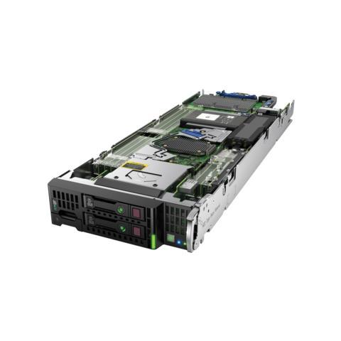 Image of Hewlett Packard Enterprise ProLiant BL460c Gen9, SATA, Serial Attached SCSI (SAS), Intel Xeon E5 v4, E5-2620V4, Lama, Microsoft Windows Server Red Hat Enterprise Linux (RHEL) SUSE Linux Enterprise Server (SLES), Cache intelligente