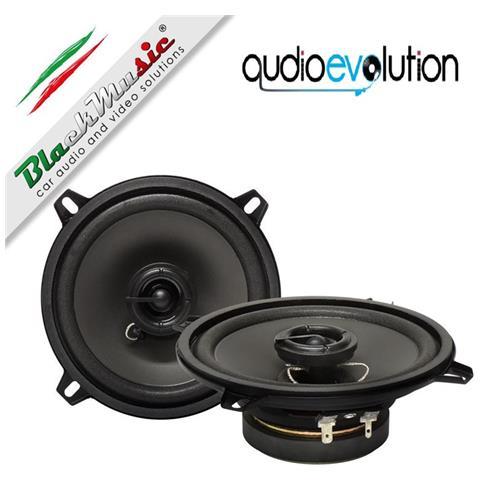 blackmusic Altoparlanti Coassiali 2 Vie 130mm - 60w 90db Blackmusic Speakers Uls-130