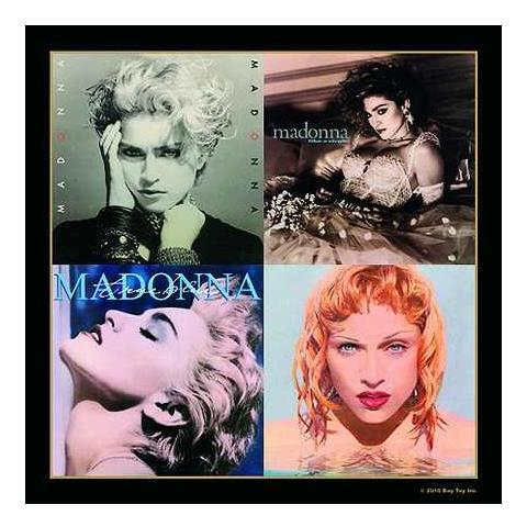 Madonna - Album Montage 1 (sottobicchiere)