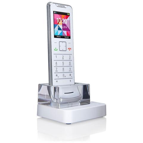 MOTOROLA Telefono Cordless Dect IT6.1 X Colore Bianco