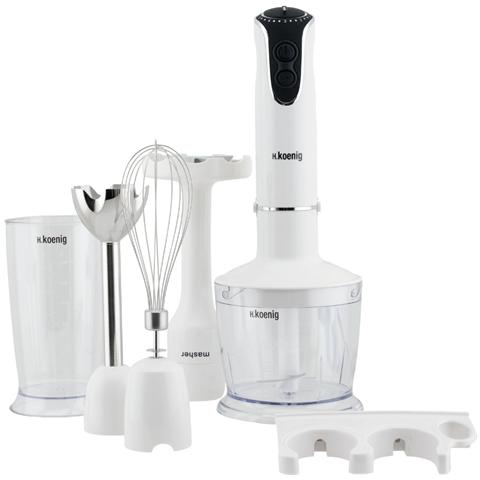 Frullatore A Immersion 4 In 1 Mix75 Bianco