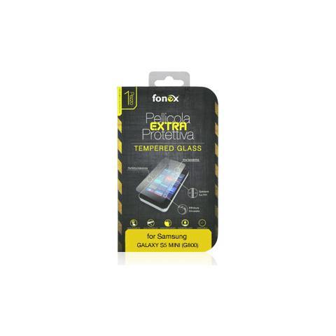 FONEX Protezione Schermo in Vetro Temperato per Galaxy S5 Mini (1Pz)