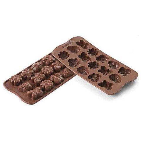Silikomart Stampo cioccolato springlife easy choc 35x18mm h. 16mm silicone