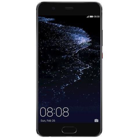 "HUAWEI P10 Plus Nero 128 GB 4G / LTE Display 5.5"" Quad HD Slot Micro SD Fotocamera 20 Mpx Android Vodafone Italia"
