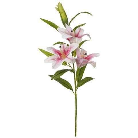 Heaven Sends Stelo Di Gigli (106 X 22cm) (rosa Chiaro)
