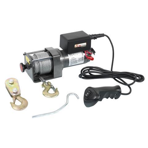 PE12V / 2500 Verricello Elettrico 12 V 1100/2200 Kg