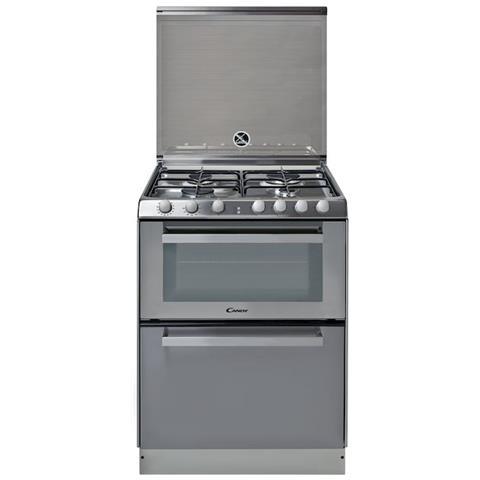 TRIO 9501/1X Cucina Elettrica + Lavastoviglie + 4 Fuochi a Gas Forno Elettrico Classe A Di...