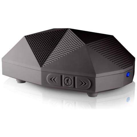 OUTDOOR TECH Speaker Audio Portatile OT1800-B Turtle Shell 2.0 Potenza 20 Watt Bluetooth Colore Nero