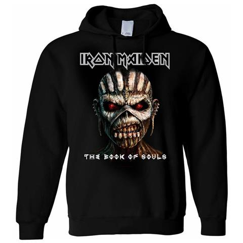 ROCK OFF Iron Maiden - Book Of Souls (Felpa Con Cappuccio Unisex Tg. S)