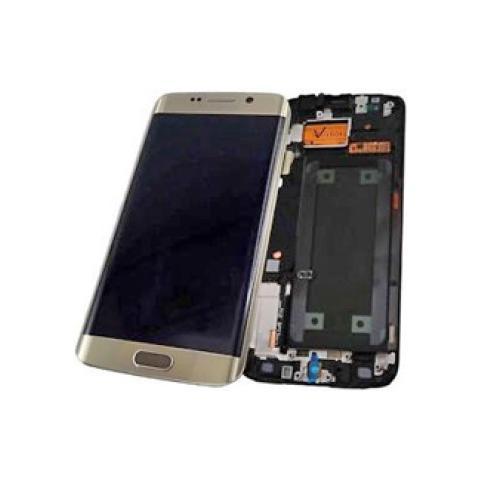 Samsung GH97-17162C Display Originale per Galaxy S6 Edge Oro G925