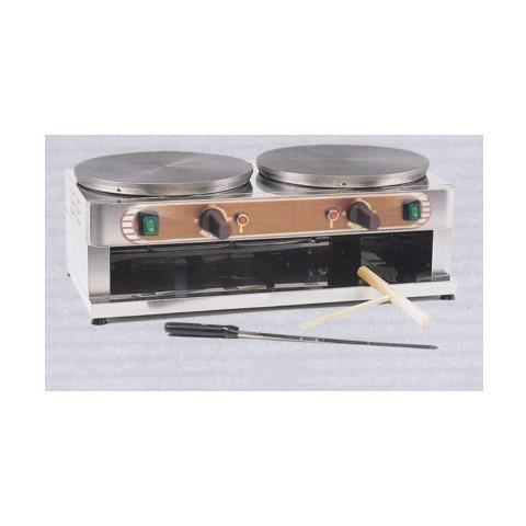Crepiera Crepes Doppia 40+40 Elettrica Rs0685