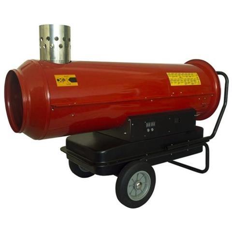 Dh2 I 55 Rosso Generatore Aria Calda Per Magazzini