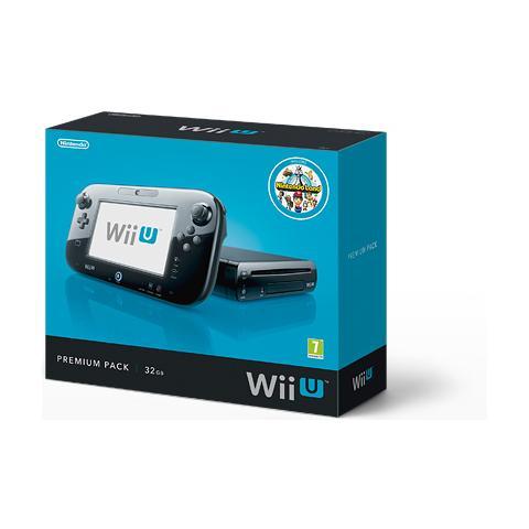 Image of Console WiiU Wii U Premium Pack Black