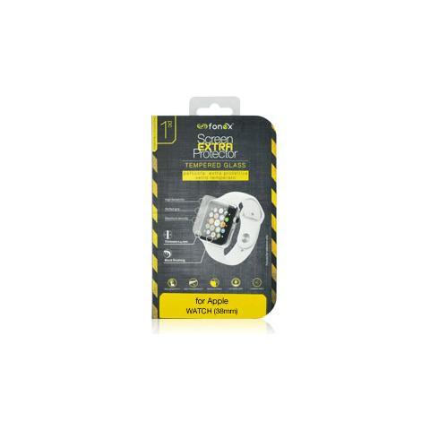 FONEX Protezione Schermo in Vetro Temperato per Apple Watch 38 mm (1Pz)