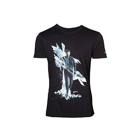 BIOWORLD Quantum Break - Box Art (T-Shirt Unisex Tg. L)