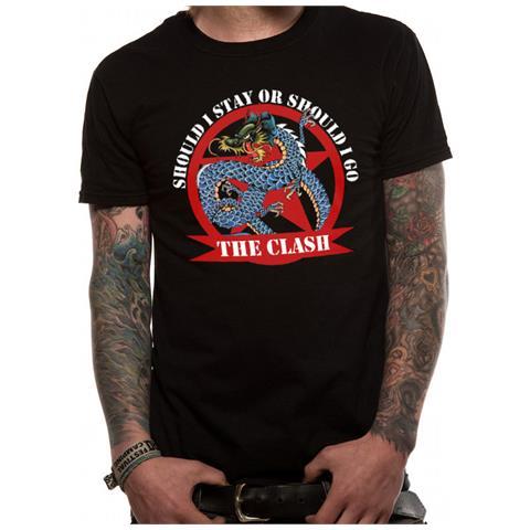CID Clash (The) - Should I Stay Dragon (T-Shirt Unisex Tg. S)