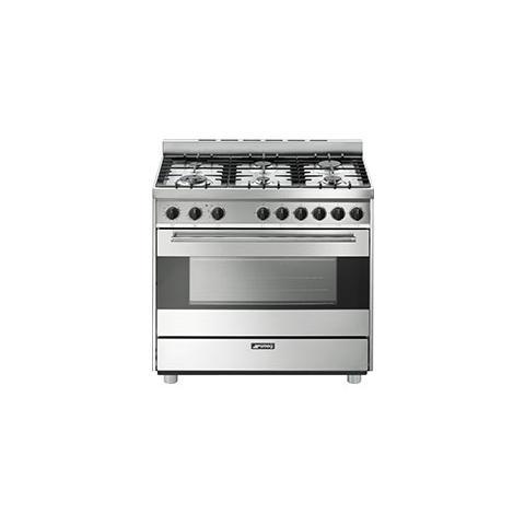 Cucina Elettrica B9GMXI 6 Zone di Cottura a Gas Forno Elettrico Multifunzione Classe A Dim...