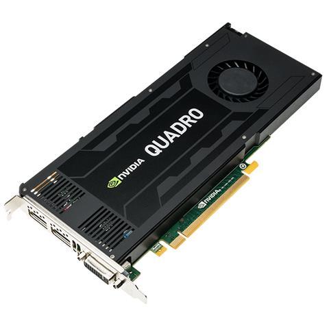 Image of J3G89AA Quadro K4200 4GB GDDR5 scheda video
