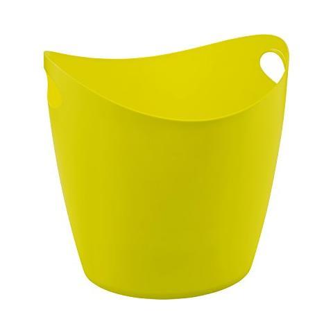 Bottichelli xl, bacinella, recipiente, cestino, colore: verde senape