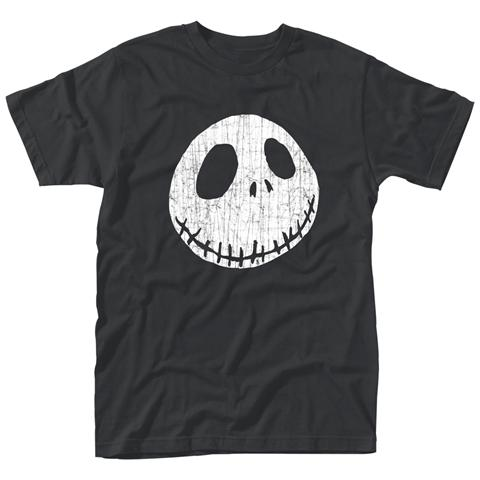 PHM Nightmare Before Christmas (The) - Cracked Face (T-Shirt Unisex Tg. 2XL)