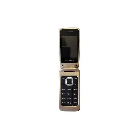 """MASTER Cellulare MF024 Colore Oro Dual Sim Display 2.4"""" Fotocamera"""
