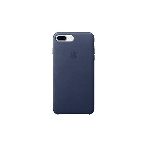 APPLE Custodia in Pelle per iPhone 7 Plus Colore Blu Notte