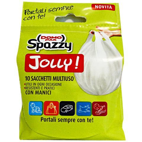 Domopak Sacchi 38x50 Monouso Jolly X 10 Pezzi Riordino