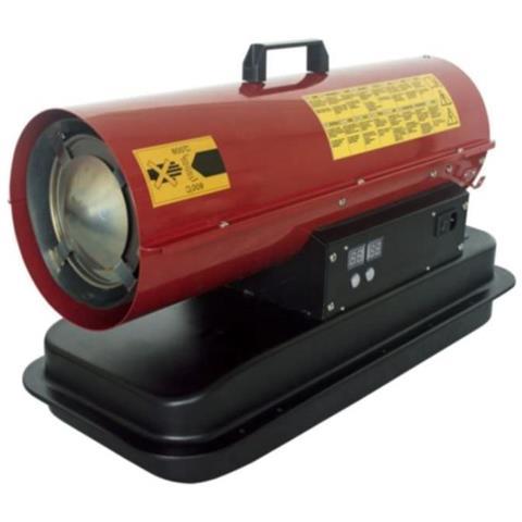 Dh1 20senzaruote Rosso Generatore Di Aria Calda A Kerosene