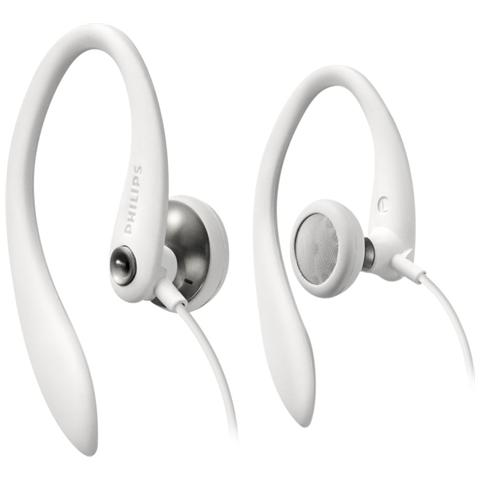 PHILIPS Shs3300wh Auricolare Secure Fit Bianco