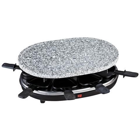 Raclette Con Pietra In Granito Per 8 Persone Rp85