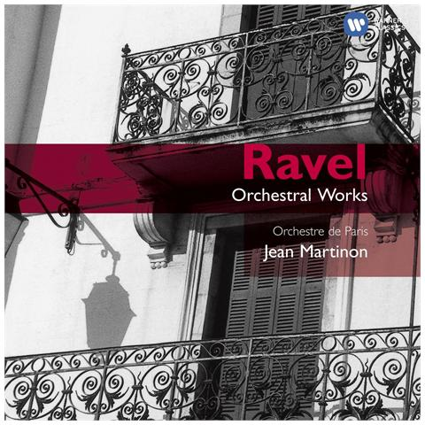 WARNER BROS Ravel \ martinon, jean / op - Bolero, Ma Mere L'oye L (2 Cd)