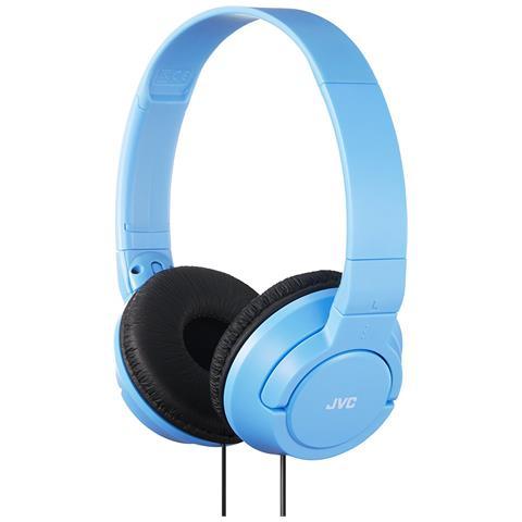 JVC Cuffie HA-S180-AN-E colore Azzurro