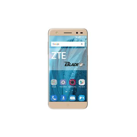 Blade V7 Lite Oro Dual Sim Display 5'' HD Quad Core Ram 2GB Storage16GB 4G / LTE Slot MicroSD Fotocamera 13Mpx Android - Europa