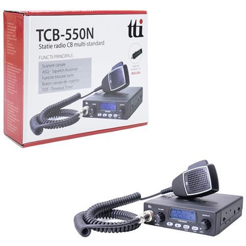 Cb Radio Tcb-550 N Asq 12v