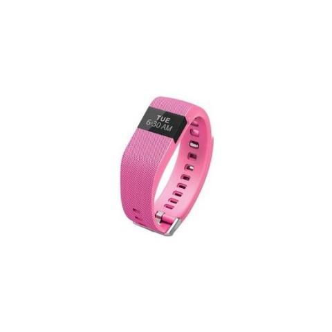 Fitbit Charge HR Rosa Braccialetto Wireless Battito Cardiaco + Attività - Large