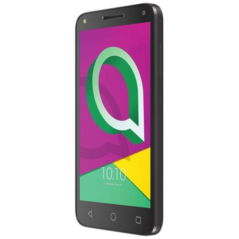 "ALCATEL U5 Nero 8 GB 3G Dual Sim Display 5"" HD Slot Micro SD Fotocamera 2 Mpx Android Italia"