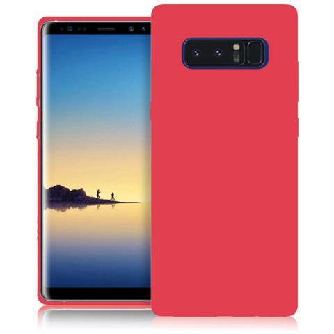FONEX Custodia per Note 8 Colore Rosso